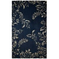 Laura Ashley® Winchester 8-Foot x 11-Foot Area Rug in Navy
