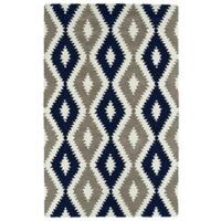 Kaleen Lakota Chatan 2-Foot x 3-Foot Accent Rug in Navy
