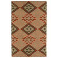 Kaleen Lakota Chaska 3-Foot 6-Inch x 5-Foot 6-Inch Multicolor Area Rug