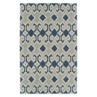 Kaleen Lakota Mika 9-Foot x 12-Foot Area Rug in Denim