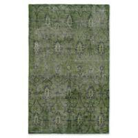 Kaleen Restoration Curio 9-Foot x 12-Foot Area Rug in Green
