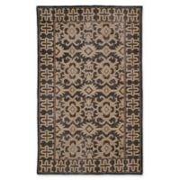 Kaleen Restoration Paulina 9-Foot x 12-Foot Area Rug in Black