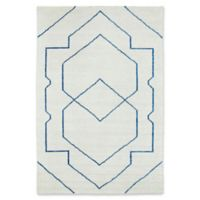 Kaleen Solitaire Shapes 9-Foot 6-Inch x 13-Foot Area Rug in Ivory