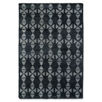 Kaleen Solitaire Tribal 9-Foot 6-Inch x 13-Foot Area Rug in Charcoal