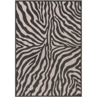 Surya Cowden 2-Foot x 3-Foot Accent Rug in Black