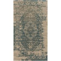 Surya Perdicca 2-Foot 7-Inch x 4-Foot 7-Inch Accent Rug in Teal