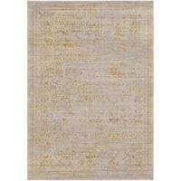 Surya Leadore 7-Foot 10-Inch x 10-Foot 3-Inch Area Rug in Light Yellow