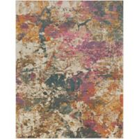 Surya Milamma Abstract 7-Foot 10-Inch x 10-Foot 3-Inch Area Rug in Orange