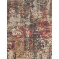 Surya Milamma Abstract Gauze 7-Foot 10-Inch x 10-Foot 3-Inch Area Rug in Purple