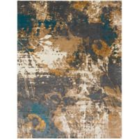 Surya Milamma Abstract Floral 7-Foot 10-Inch x 10-Foot 3-Inch Area Rug in Charcoal