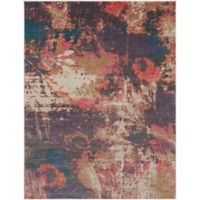 Surya Milamma Abstract Floral 7-Foot 10-Inch x 10-Foot 3-Inch Area Rug in Bright Purple