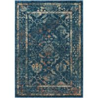Surya Lenorah 2-Foot x 3-Foot Accent Rug in Navy