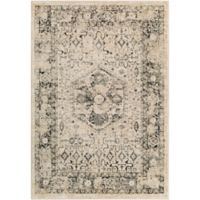 Surya Sylva Classic 2-Foot x 3-Foot Accent Rug in Black