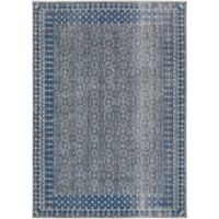 Surya Daphne Classic 2-Foot x 3-Foot Accent Rug in Dark Blue