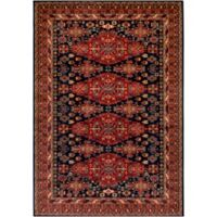 Surya Poulton 5-Foot x 7-Foot 6-Inch Area Rug in Dark Red