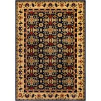 Surya Poulton 2-Foot x 3-Foot Accent Rug in Navy