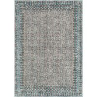 Surya Daphne Classic 5-Foot 3-Inch x 7-Foot 3-Inch Area Rug in Teal