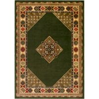 Surya Poulton 5-Foot x 7-Foot 6-Inch Area Rug in Black