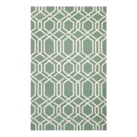 Couristan® Covington Ariatta Indoor/Outdoor 2-Foot x 4-Foot Accent Rug in Green