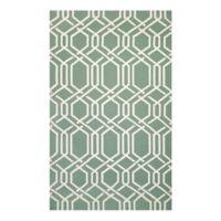 Couristan® Covington Ariatta Indoor/Outdoor 3-Foot 6-Inch x 5-Foot 6-Inch Area Rug in Green