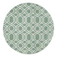Couristan® Covington Ariatta Indoor/Outdoor 7-Foot 10-Inch Round Area Rug in Green