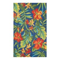 Covington Tropic 2-Foot x 4-Foot Indoor/Outdoor Multicolor Accent Rug
