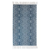 Thro Anders 2-Foot 3-Inch x 3-Foot 9-Inch Accent Rug in Indigo