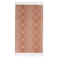 Thro Anders 2-Foot 3-Inch x 3-Foot 9-Inch Accent Rug in Orange