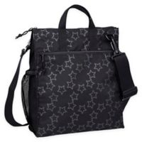 Lassig Casual Stroller Bag in Reflective Star Black
