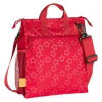 Lassig Casual Stroller Bag in Reflective Star Flaming Red