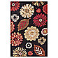 Concord Global Kaleidoscope Black 2-Foot 7-Inch x 4-Foot Rug