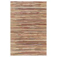 Striation Stripes 2-Foot 7-Inch x 4-Foot Indoor Rug