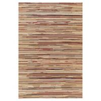Striation Stripes 5-Foot 3-Inch x 7-Foot 7-Inch Indoor Rug