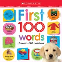 "Scholastic ""Lift the Flap: First 100 Words"" Board Book (Bilingual)"