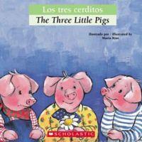 """Scholastic """"The Three Little Pigs/Los Tres Cerditos"""" (English/Spanish)"""