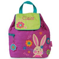 Stephen Joseph® Bunny Quilted Backpack in Purple