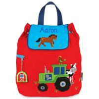 Stephen Joseph® Farm Quilted Backpack in Red