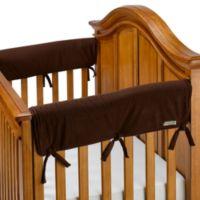 Trend Lab® 2-Piece CribWrap™ in Brown