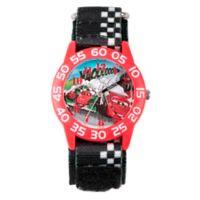 "Disney® ""Cars"" Children's 32mm Time Teacher Watch with Black Nylon Strap"
