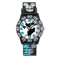 Disney® Mickey Mouse Children's 32mm Time Teacher Watch with Black Fabric Strap