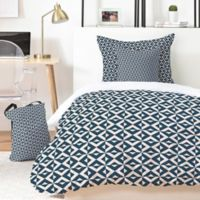 Deny Designs Khristian A. Howell Nina 5-Piece King Duvet Cover Set in Blue