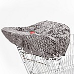 SKIP*HOP® Feather Take Cover Shopping Cart and High Chair Cover in Grey