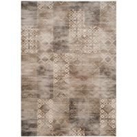 Safavieh Vintage Patchwork 8-Foot x 11-Foot 2-Inch Area Rug in Stone