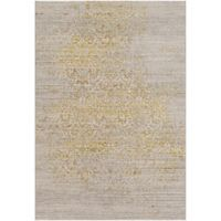 Surya Norvell 5-Foot x 8-Foot Area Rug in Tan/Yellow