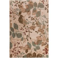 Surya Peroz Branches 6-Foot 7-Inch x 9-Foot 6-Inch Area Rug in Beige