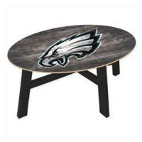 NFL Philadelphia Eagles Distressed Wood Coffee Table