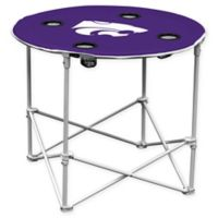 Kansas State University Round Collapsible Table