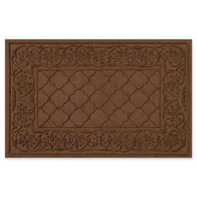 weather guard rosalie 24inch x 36inch door mat in