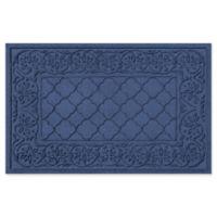 Weather Guard™ Rosalie 24-Inch x 36-Inch Door Mat in Navy