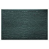 Weather Guard™ Alligator 24-Inch x 36-Inch Door Mat in Evergreen
